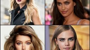 صور: عارضات الأزياء قبل الشهرة... هل كنّ جميلات أيضاً؟
