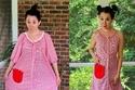 صور: فتاة تشتري ملابس رخيصة جداً وتحولها لأُخرى تشبه الماركات العالمية
