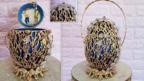 صور: حقيبة بقيمة 6.7 مليون دولار مصنوعة من بيضة حقيقية