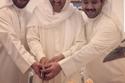 الشيخ صباح الأحمد بحتفل مع أحفاده بعيد ميلاده