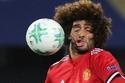 تصادم الكرة بوجه اللاعب مروان فيلانيني