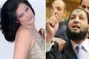 أعلنت سما المصري عن زواجها السابق من النائب السلفي أنور البلكيمي