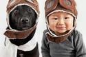 صور رائعة لأطفال اتخذوا الكلاب كأصدقاء مقربين