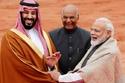 استقبل ولي العهد السعودي الأمير محمد بن سلمان رئيس الوزراء الهندي ناري