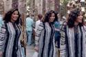 فستان شيرين المخطط في إعلان فودافون
