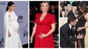 25 صورة أجمل إطلالات الحمل على السجادة الحمراء.. هذه كانت الأجرأ 😍