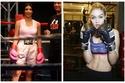 صور: رغم الرقة والجمال .. نجمات يفضلن القوة ولعب الملاكمة