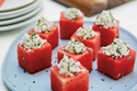 البطيخ مع جبن الفيتا
