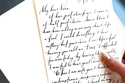كتابة خطاب رومانسي