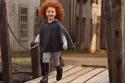 الطفلة تم إلتقاط صورها من قبل مصور روسي