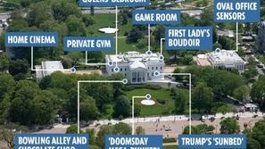 صور: مخابئ سرية وسمات مذهلة في البيت الأبيض.. بينها مخبأ يوم القيامة