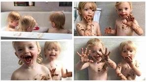 صور: تصرف مشاغب لـ 3 توائم يضع أم في صدمة مضحكة 😂