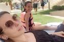 إيمان العاصي مع ابنتها