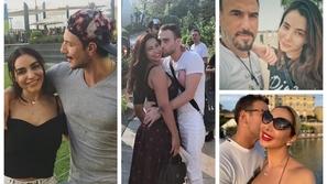 صور رومانسية : ثنائيات المشاهير على البحر.. ظهور نادر لزوجة هذا الممثل