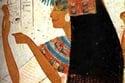 رجال و نساء في مصر القديمة يضعون أحمر الشفاه كرمز لوضعهم