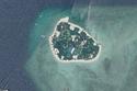 جزيرة بانوا التي يقع عليها المنتجع