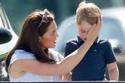 الأمير جورج يبكي خلال لعب البولو