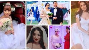 صور: فساتين زفاف النجمات في دراما رمضان 2019.. هذه النجمة كانت الأجمل