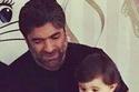 ابنه وائل كفوري في صورة مسربة