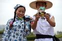 عرض أزياء سرطان البحر في الصين