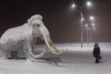 صور رهيبة كيف هي الحياة في أبرد مدينة في العالم: درجة الحرارة سالب 50