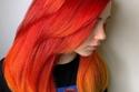 الأحمر والبرتقالي