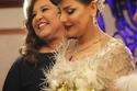 تسريحة شعر شمور بوم زفافها من مسلسل الكون في كفه