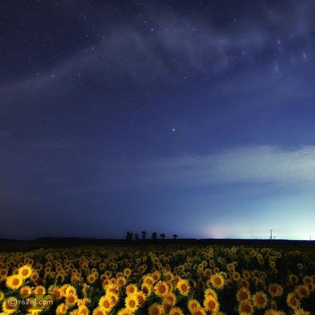 اجمل الصور للسماء في الليل