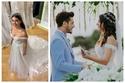 صور: زفاف رومانسي لبطلة مسلسل فضيلة وبناتها.. اختارت 3 فساتين مذهلة