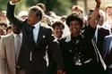 إطلاق سراح نيلسون مانديلا
