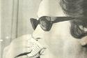 الست أم كلثوم ' تشرب القهوه العربيه أثناء زيارتها للكويت عام 1968م