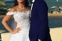 إيمي سمير غانم تظهر بوزن زائد في زفافها