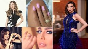 صور أجمل خواتم زواج النجمات العرب.. نجمة خليجية خاتمها بـ3 مليون دولار