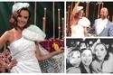 صور: بفستان غريب ومضحك.. زواج بطلة المسلسل التركي فاطمة في حفل فخم