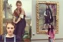 صور مذهلة لأشخاص وجدوا توائم في اللوحات التاريخية