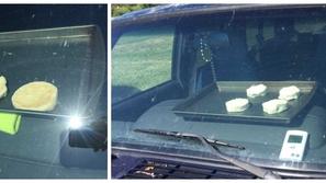 صور: تجربة مثيرة لطهي البسكويت على حرارة الشمس داخل سيارة!