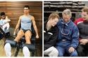 صور: على حساب الشهرة.. مشاهير رجال اختاروا تربية أطفالهم بأنفسهم
