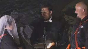 فيديو: حفل زفاف غير تقليدي في أعماق كهف نرويجي