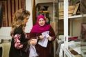 الملكة رانيا بالزي التقليدي