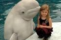 الحوت والفتاة الصغيرة