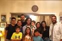 أحمد مالك مع عائلته