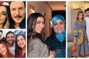 صور النجوم برفقة عائلاتهم في رمضان.. وقُبلة لهذه النجمة تسبب جدل كبير