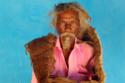 رجل هندي لم يغسل شعره منذ 40 عام