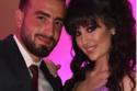 ربا السعدي مع خطيبها من حفل خطوبتها