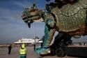يعد هذا الوحش الذي يبلغ طوله 25 مترًا