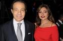 منصور الجمال وزوجته السابقة ليلى علوي بإحدى المناسبات