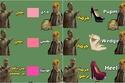 صور ساخرة تعرض الفرق بين الرجال والنساء في أسماء الأشياء