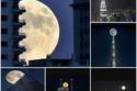 صور مذهلة لظاهرة القمر العملاق التي لن تتكرر قبل عام 2034