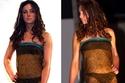 كيت ميدلتون في عرض أزياء لملابس داخلية