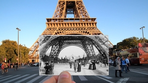 باريس بين الماضي والحاضر: صور بعثت الحياة في التاريخ من جديد!